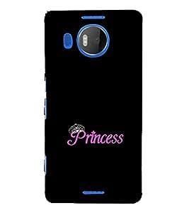 EPICCASE Princess case Mobile Back Case Cover For Microsoft Lumia 950 XL (Designer Case)