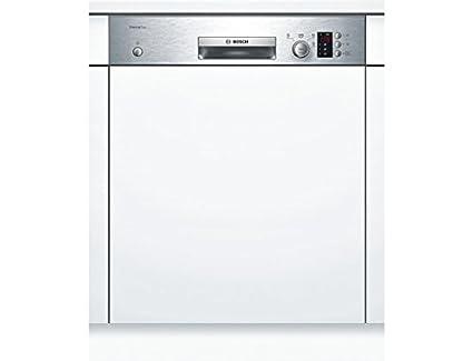 Bosch SMI40D15EU Lave-vaisselle 48 dB A+ Argent, Blanc