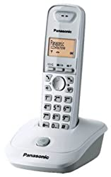 Panasonic 2.4 GHz Digital cordless Phone KX-TG3551SXW- WHITE