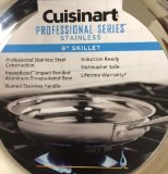 Cuisinart 8922-20 Professional Stainless Skillet, 8-Inch (8 Inch Glass Lid Cuisinart compare prices)
