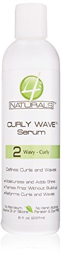 4 Naturals Curly Wave Serum 2 Wavy, 8 Ounce (4 Naturals compare prices)