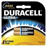 CopperTop Batteries, DuraLock Power Preserve Alkaline, 1.5 V, AAAA, 2 per pack, Sold as 1 CD