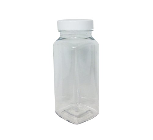 Plastic Milk Bottle | 8oz 6ct by UrParty (8 Oz Milk Jars compare prices)