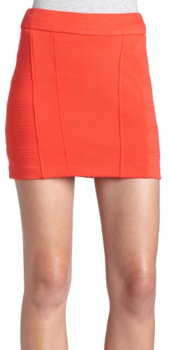 BCBGeneration women's Seamed Mini Skirt