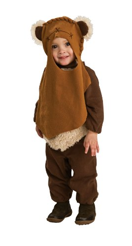 Rubie's Baby-Boys Costume Co Star Wars Romper And Headpiece Ewok