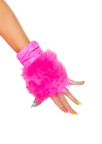 J. Valentine Women's Hot Pink Unicorn Gloves