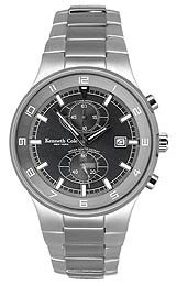 Kenneth Cole Dress Sport Multifunction Bracelet Black Dial Men's watch #KC3500