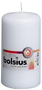 Bolsius Outdoor/Indoor Pillar Candle 130x70mm - White from Ivyline