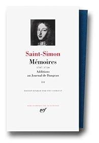 Saint-Simon : Mémoires, tome 3 1707-1710 par  Saint-Simon