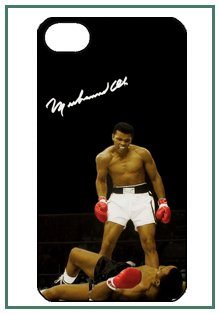 buy Muhammad Ali Iphone 4S Iphone4S Black Case Cover Bumper