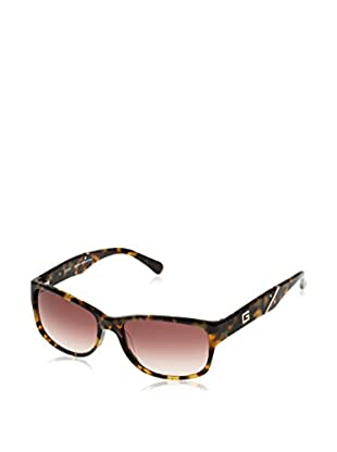 Guess Gafas de Sol GU 6755 (58 mm) Marrón / Verde