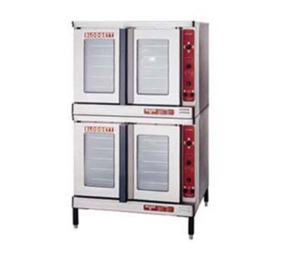 Blodgett Markv-100Doubl Double Full Size Electric Convection Oven - 208V/3Ph, Each
