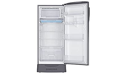 Samsung RR21J2835LX Direct-cool Single-door Refrigerator (212 Ltrs, 5 Star Rating, Orcherry Peach Silver)