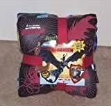 How to Train Your Dragon Throw & Pillow Set Glow in the Dark Pillow Colors & Style Varies