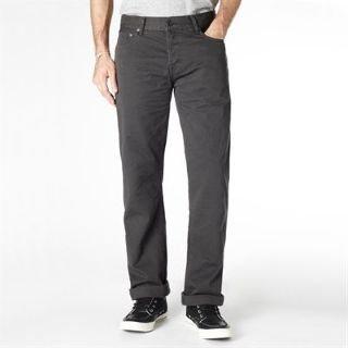 Firetrap Rom Twill Mens Jeans Charcoal 34 L30