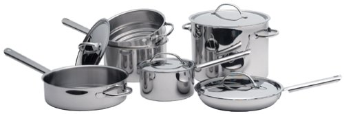 Cuisinart 99-10 Everyday Stainless 10-Piece Cookware Set