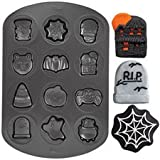 311D1ueLezL. SL160  Wilton 12 Cavity Halloween Cookie Pan Reviews