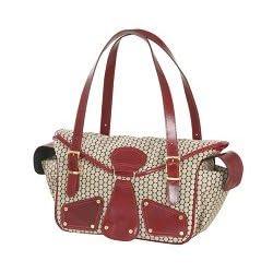 Mia Bossi - Maria - Diaper Bag (Canvas), Red Pepper