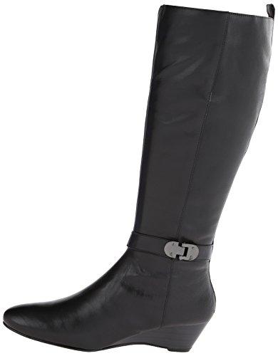 Bandolino Women S Adanna Wide Calf Leather Riding Boot