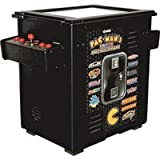 Pac-Man's Arcade Party Cocktail Table Game - Black Cabinet