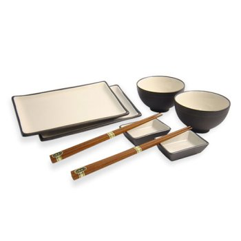 8 piece Japanese Dinnerware Set - Buy 8 piece Japanese Dinnerware Set - Purchase 8 piece Japanese Dinnerware Set (Khafuh Japan, Home & Garden, Categories, Kitchen & Dining, Tableware, Dinnerware Sets)