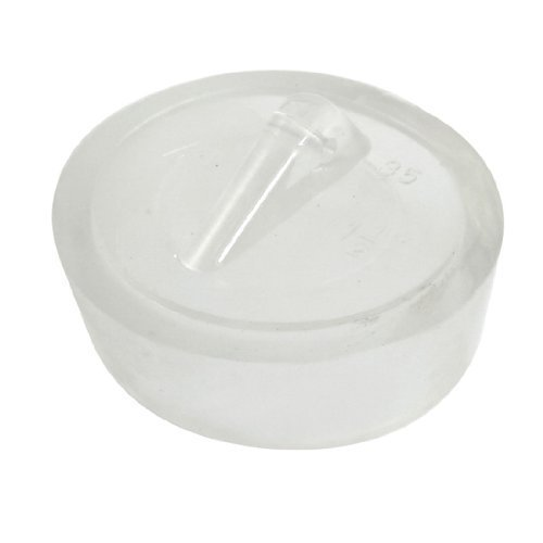 sourcingmap-rubber-sink-basin-plug-garbage-disposal-stopper-35mm-diameter-clear