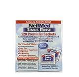 Neilmed Sisurinse 120 refill mixture sachets for netipot and bottle