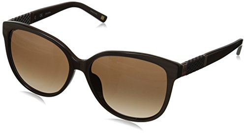 Escada-Sunglasses-Womens-SES310-0U37-Cateye-Sunglasses-Brown