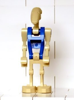 Lego Star Wars: Blue Pilot Droid Minifigure