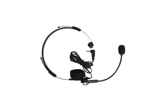Motorola 53725 SLK Headset with Swivel Boom Mic (Black)