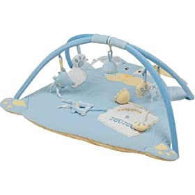 Baby's Store | Blue Rabbit Gym Playmat :  playmat blue rabbit gym