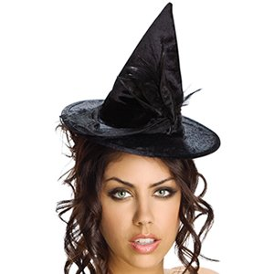 Rubie's Mini Velour Witch Hat - 48971