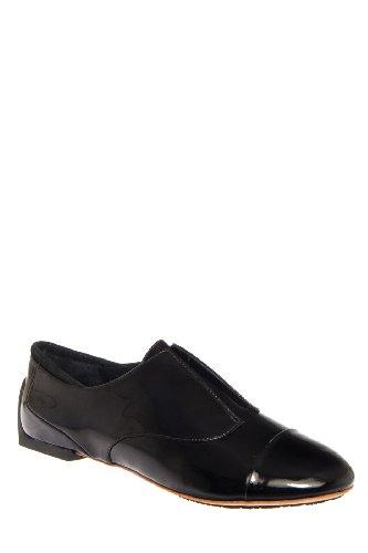 Tsubo Rylee Flat Shoe - Black Patent