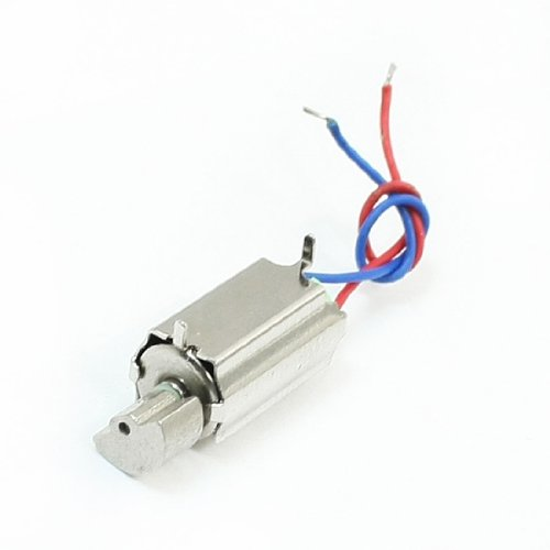 DC3V 10000RPM 6mmx12mm Mini Coreless Vibration Motor for Plane Model - 1