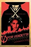 V For Vendetta (Red) - Maxi Poster - 61cm x 91.5cm