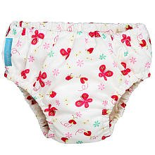 Charlie Banana Training & Swim Cloth Diaper - Butterfly - Medium - 1