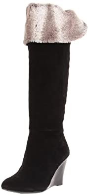BCBGeneration Women's Mocha Knee-High Boot,Black,6.5 M US