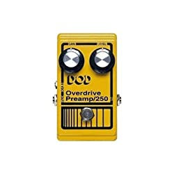 Dod Overdrive Preamp/250 Overdrive Preamp Pedal by DigiTech