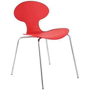 Modern stacking chair help - Ghost chairs knock off ...