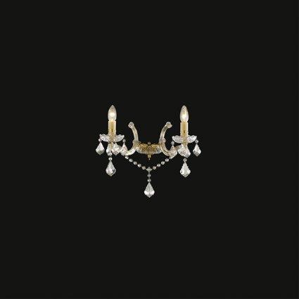 Luminaire applique Ideal Lux FLORIAN AP2 ORO