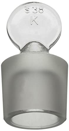 Kimax Solid Glass Flask with Pennyhead Stopper