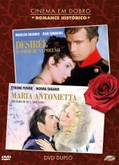 Desiree (1954) + Marie Antoinette (1938) (Double Feature) [Import]