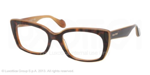 Miu Miu Eyeglasses Miu Miu 0MU 05LV KAZ1O1 TOP HAVANA ON HONEY