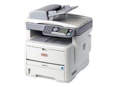 Oki 62433301 Mb 480 - Multifunction ( Fax / Copier / Printer / Scanner ) - B/W - Led - 8.5 In X 14 In (Media) - Up To 22 Ppm (Copying) - Up To 30 Ppm (Printing) - 580 Sheets - 33.6 Kbps - Parallel, Usb 2.0, Lan