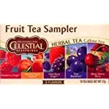 Celestial Seasonings Fruit Tea Sampler, 18 Btl.