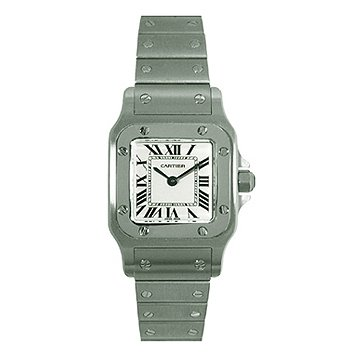Cartier Women's W20056D6 Santos Stainless Steel Watch