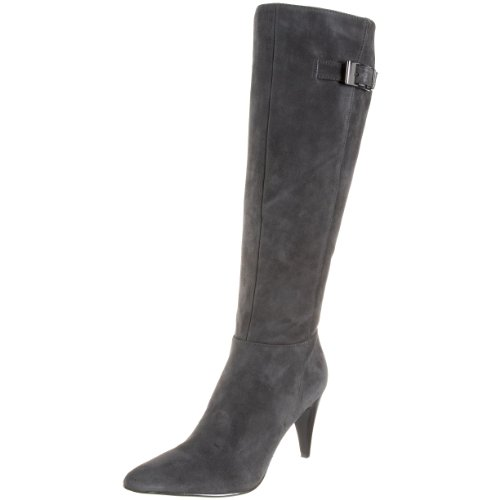 Calvin Klein Women's Logan Kid Suede E7366 Knee-High Boot