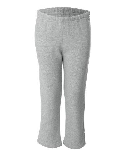 Gildan Youth Heavy BlendOpen Bottom Sweatpants - Sport Grey