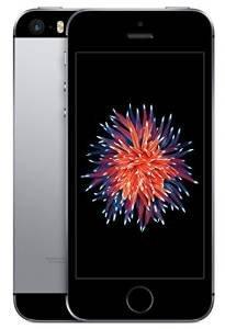 Apple iPhone SE SIMフリー 4インチ 64GB スペースグレー 国内SIMフリー版 2016