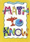 Math to Know: A Mathematics Handbook